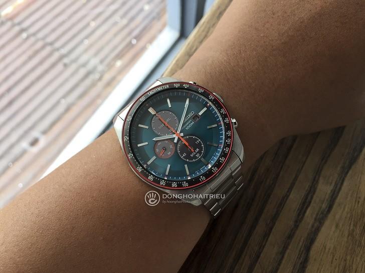 Đồng hồ Seiko SSC717P1 công nghệ Solar, tính năng thể thao - Ảnh 1