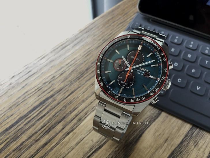 Đồng hồ Seiko SSC717P1 công nghệ Solar, tính năng thể thao - Ảnh 2