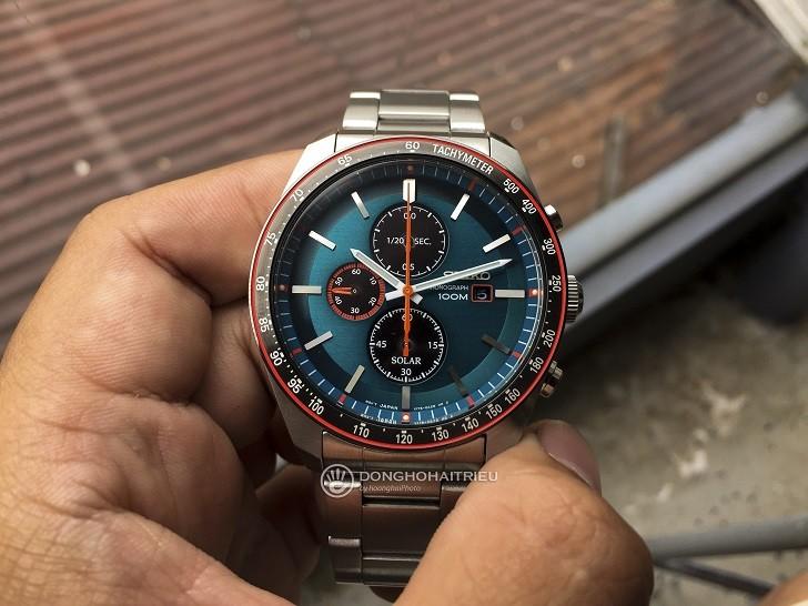 Đồng hồ Seiko SSC717P1 công nghệ Solar, tính năng thể thao - Ảnh 3