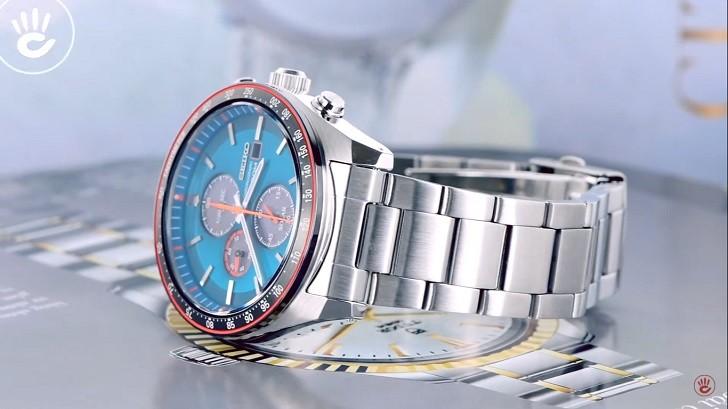 Đồng hồ Seiko SSC717P1 công nghệ Solar, tính năng thể thao - Ảnh 4