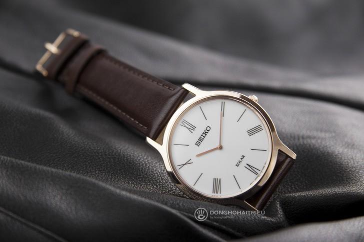 Đồng hồ Seiko SUP854P1 giá rẻ, bộ máy năng lượng ánh sáng - Ảnh 2
