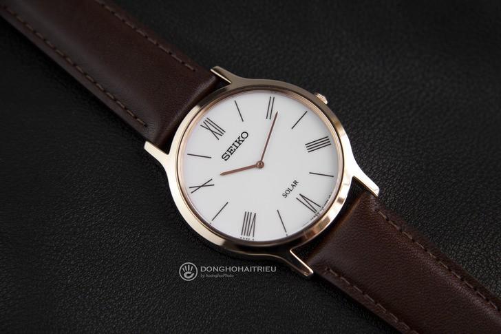 Đồng hồ Seiko SUP854P1 giá rẻ, bộ máy năng lượng ánh sáng - Ảnh 3