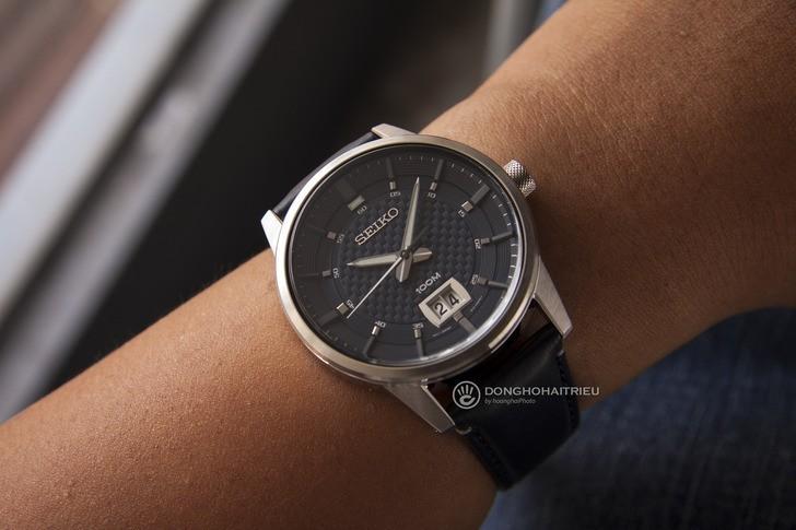 Đồng hồ Seiko SUR287P1 giá rẻ, thay pin miễn phí trọn đời - Ảnh 2