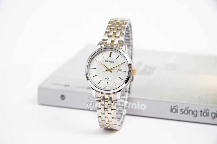 Đồng hồ Seiko SUR647P1: gọn nhẹ và sang trọng - Ảnh 2