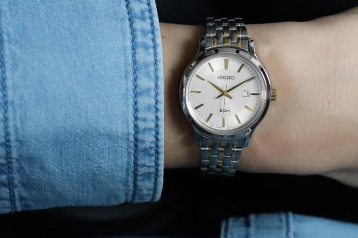 Đồng hồ Seiko SUR647P1: gọn nhẹ và sang trọng - Ảnh 1