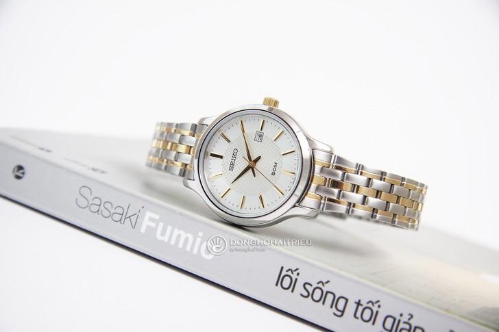 Đồng hồ Seiko SUR647P1: gọn nhẹ và sang trọng - Ảnh 3