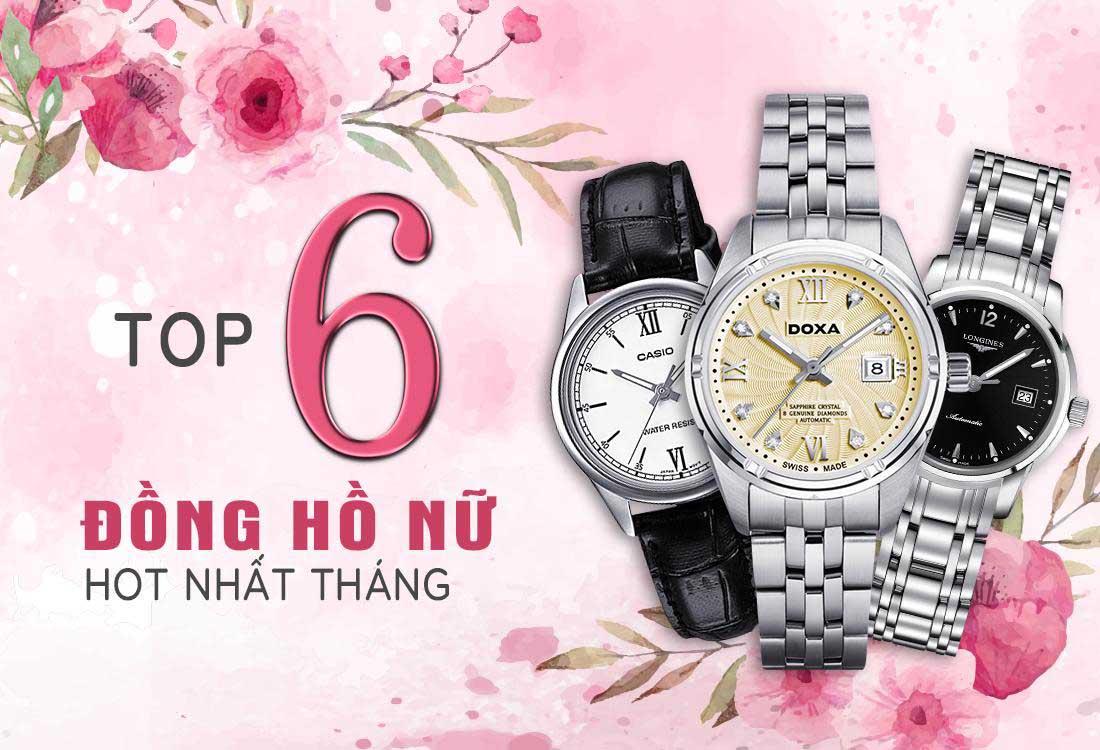 top 10 mau dong ho nu hot nhat thang 6 banner