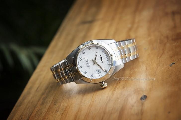 Vì sao đồng hồ Doxa D171TWH có giá bán lên đến gần 40 triệu? - Ảnh: 1