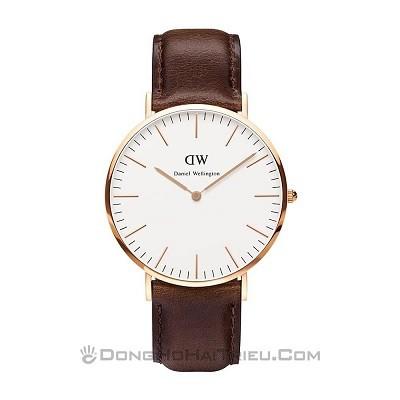 20 mẫu đồng hồ (Daniel Wellington) DW nam, nữ giá rẻ nhất hôm nay - ảnh:Daniel Wellington DW00100009