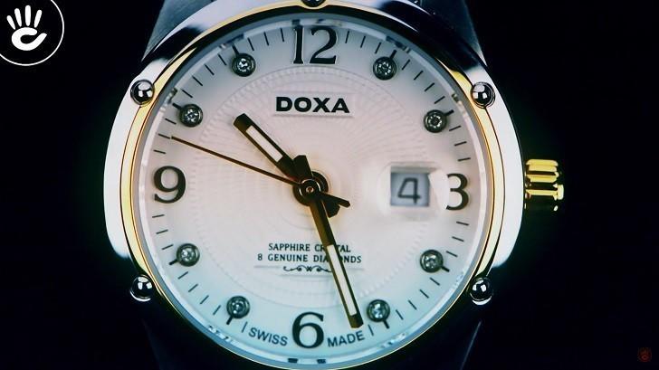 5 chi tiết đắt giá trên đồng hồ Doxa D172TWH dành cho nữ - Ảnh: 4