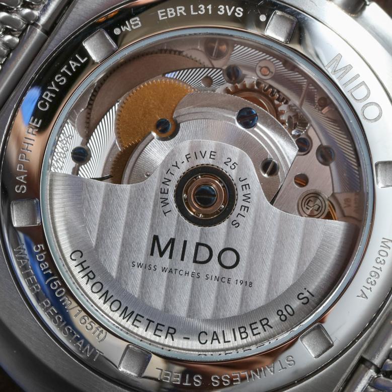 Mido Caliber 80 Si Chronometer