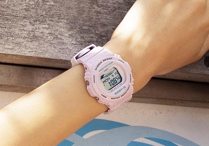 Đồng hồ Baby-G BLX-570-4DR: giá rẻ và thay pin miễn phí - Ảnh 5