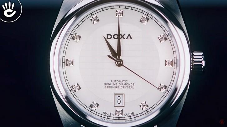 Đánh giá đồng hồ Doxa D149SWH máy cơ, đính 8 viên kim cương - Ảnh: 2