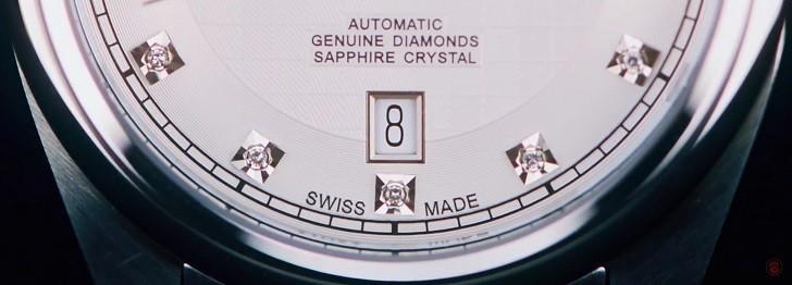 Đánh giá đồng hồ Doxa D149SWH máy cơ, đính 8 viên kim cương - Ảnh: 3