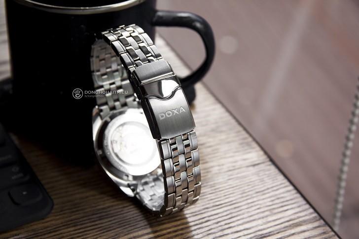 Đánh giá đồng hồ Doxa D149SWH máy cơ, đính 8 viên kim cương - Ảnh: 6