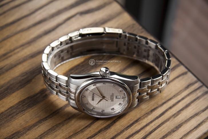 Đánh giá đồng hồ Doxa D149SWH máy cơ, đính 8 viên kim cương - Ảnh: 7