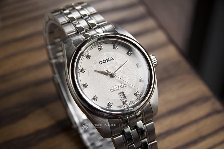 Đánh giá đồng hồ Doxa D149SWH máy cơ, đính 8 viên kim cương - Ảnh: 8