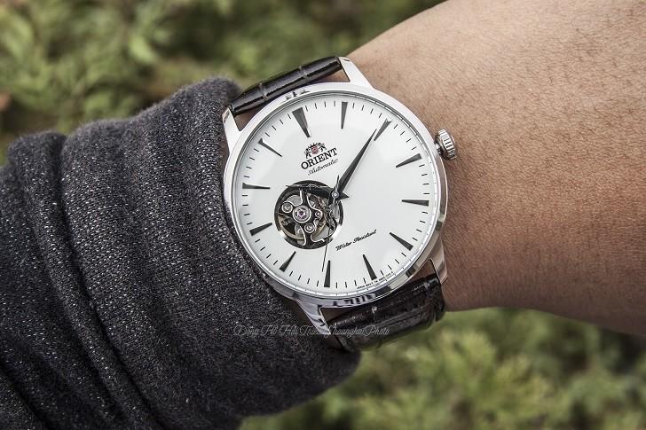 Đánh giá đồng hồ Orient FAG02005W0 cơ lộ máy (Open Heart) - ảnh: 3
