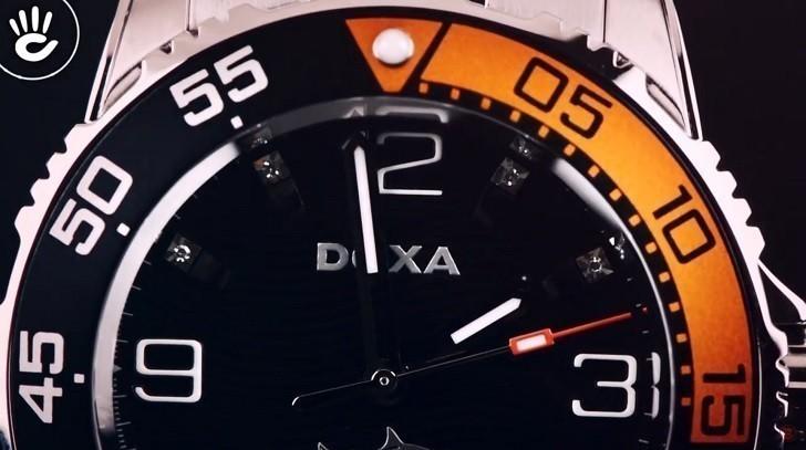 Đánh giá nhanh đồng hồ Doxa D162SBO máy cơ, chịu nước 20ATM - Ảnh: 4