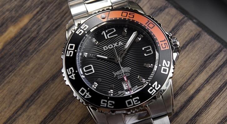 Đánh giá nhanh đồng hồ Doxa D162SBO máy cơ, chịu nước 20ATM - Ảnh: 5