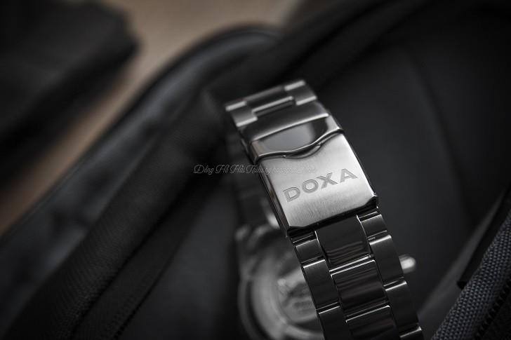 Đánh giá nhanh đồng hồ Doxa D162SBO máy cơ, chịu nước 20ATM - Ảnh: 7