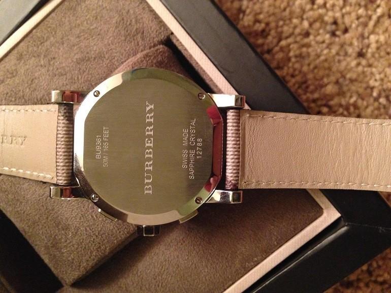 Đồng hồ Burberry và câu chuyện đằng sau mức giá hàng ngàn đô - ảnh: 10