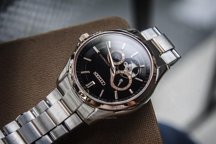 Đồng hồ Citizen NP1014-51E máy cơ, trữ cót hơn 40 giờ - Ảnh: 1