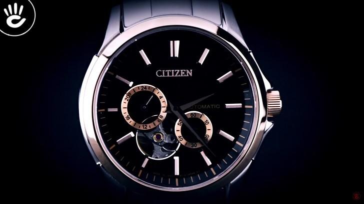 Đồng hồ Citizen NP1014-51E máy cơ, trữ cót hơn 40 giờ - Ảnh: 2