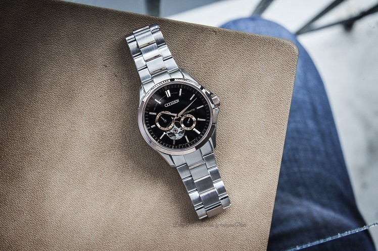 Đồng hồ Citizen NP1014-51E máy cơ, trữ cót hơn 40 giờ - Ảnh: 8