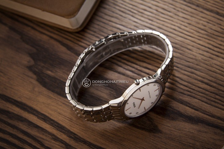 Đồng hồ Doxa D157SWH siêu mỏng (dưới 6mm) dành cho nam - Ảnh: 1