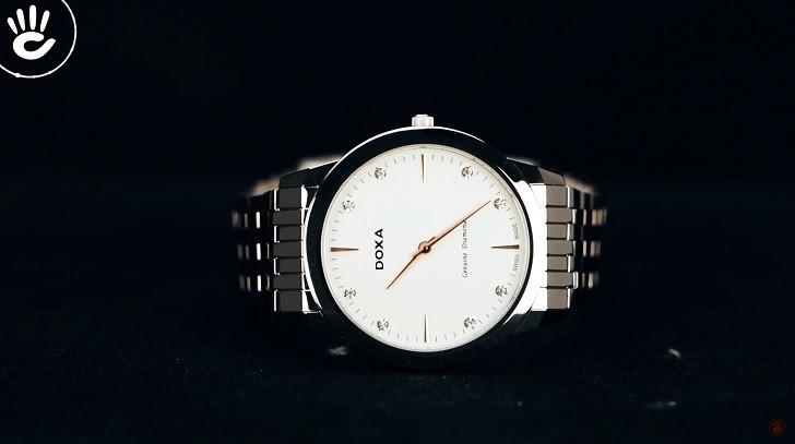 Đồng hồ Doxa D157SWH siêu mỏng (dưới 6mm) dành cho nam - Ảnh: 2