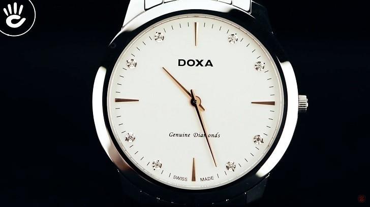Đồng hồ Doxa D157SWH siêu mỏng (dưới 6mm) dành cho nam - Ảnh: 4