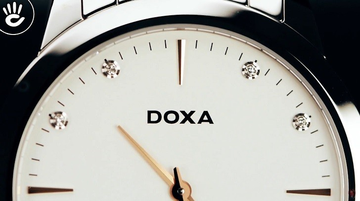 Đồng hồ Doxa D157SWH siêu mỏng (dưới 6mm) dành cho nam - Ảnh: 5
