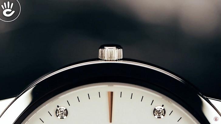 Đồng hồ Doxa D157SWH siêu mỏng (dưới 6mm) dành cho nam - Ảnh: 6