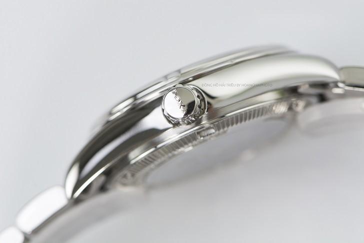 Đồng hồ Doxa D174SCM đính 8 viên kim cương, có dạ quang - ảnh: 5