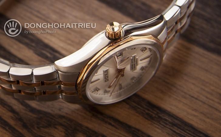 Đồng hồ Doxa D176RWH nổi tiếng về đính kim cương thật - Ảnh: 7