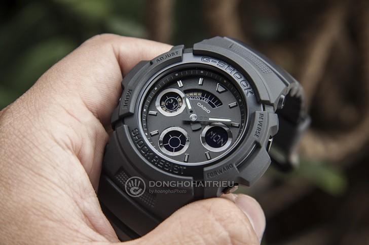 Đồng hồ G-Shock AW-591BB-1ADR chống sốc, gần 15 tính năng - Ảnh: 1