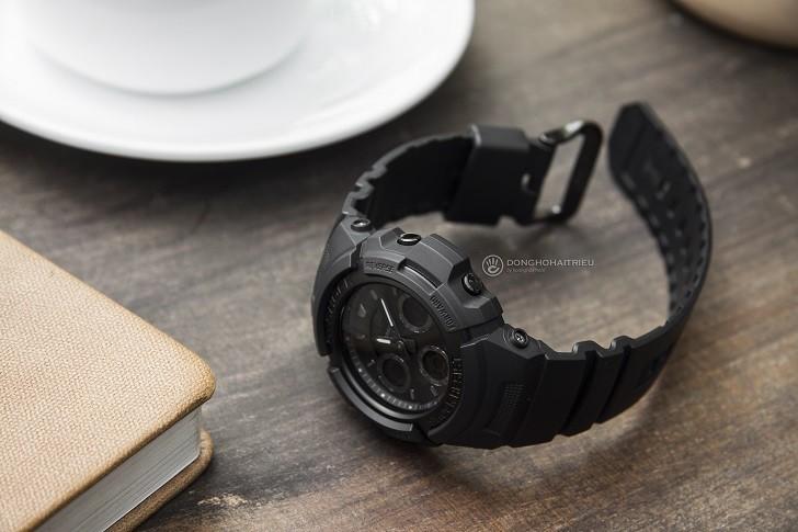 Đồng hồ G-Shock AW-591BB-1ADR chống sốc, gần 15 tính năng - Ảnh: 4