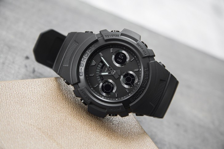 Đồng hồ G-Shock AW-591BB-1ADR chống sốc, gần 15 tính năng - Ảnh: 5