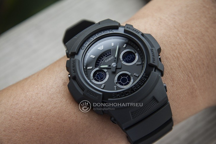 Đồng hồ G-Shock AW-591BB-1ADR chống sốc, gần 15 tính năng - Ảnh: 7