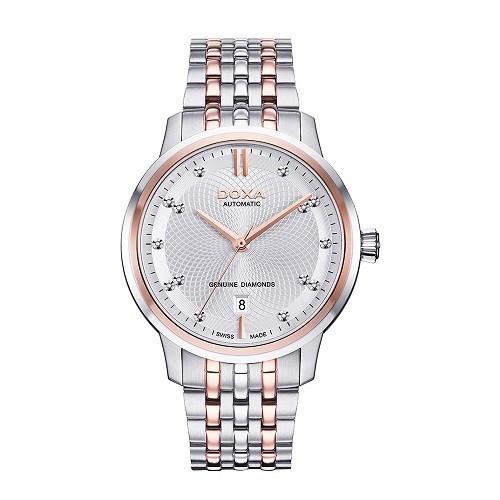 Đồng hồ gắn kim cương, họa tiết guilloché đắt đến mức nào? - Ảnh: Doxa D220RSV