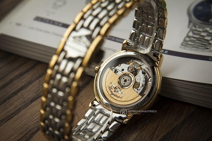 Đồng hồ Longines L4.821.2.32.7 dây đờ mi, máy cơ Thụy Sĩ - Ảnh: 3