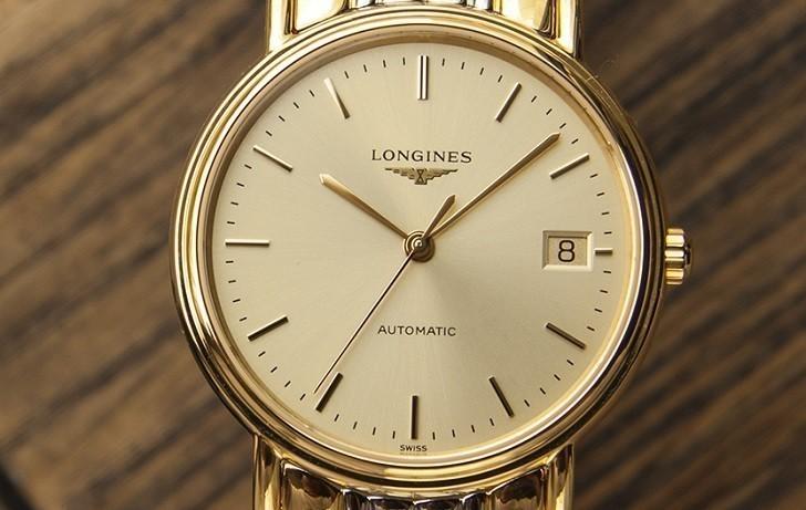 Đồng hồ Longines L4.821.2.32.7 dây đờ mi, máy cơ Thụy Sĩ - Ảnh: 7
