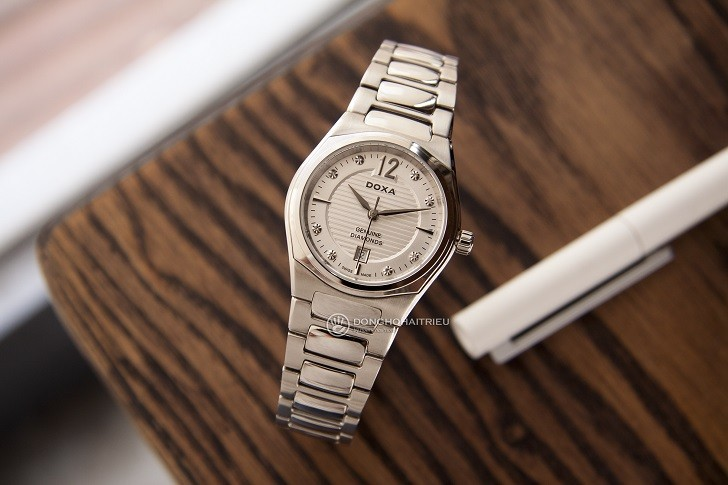 Doxa D191SSV | Đồng hồ nữ siêu mỏng, cao cấp đến từ Thụy Sỹ - Ảnh: 10