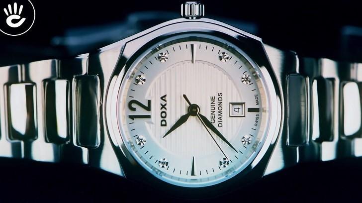 Doxa D191SSV | Đồng hồ nữ siêu mỏng, cao cấp đến từ Thụy Sỹ - Ảnh: 2