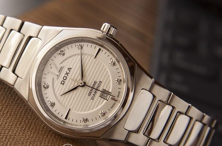 Doxa D191SSV | Đồng hồ nữ siêu mỏng, cao cấp đến từ Thụy Sỹ - Ảnh: 7
