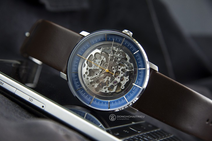 Đồng hồ Fossil ME3162 thiết kế Skeleton độc đáo từ máy cơ - Ảnh 8