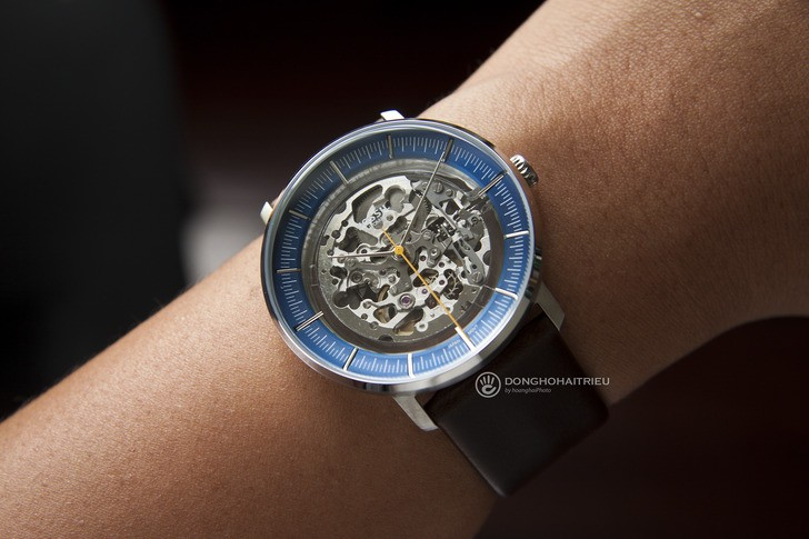 Đồng hồ Fossil ME3162 thiết kế Skeleton độc đáo từ máy cơ - Ảnh 2