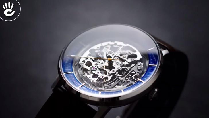 Đồng hồ Fossil ME3162 thiết kế Skeleton độc đáo từ máy cơ - Ảnh 3
