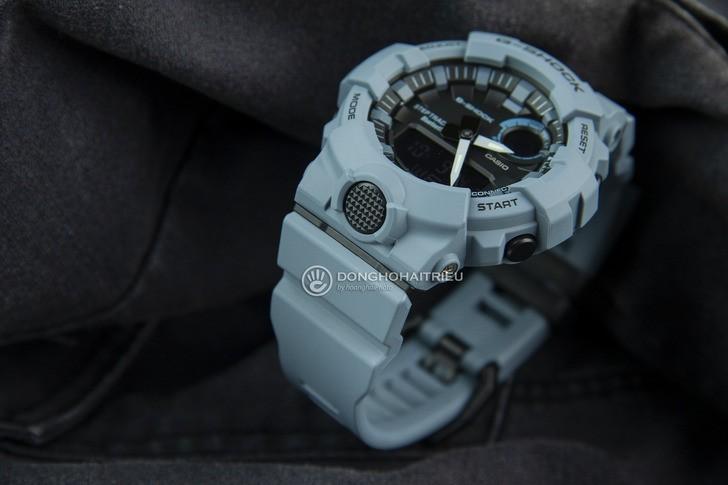 GBA-800UC-2ADR thiết kế thể thao, tông màu xanh ấn tượng - Ảnh 3